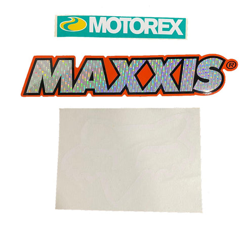 KIT STICKERS MAXXIS 2