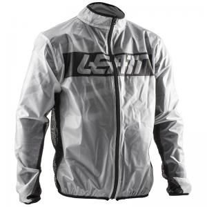 JACKET LEATT RACECOVER GRIS BRILLANTE