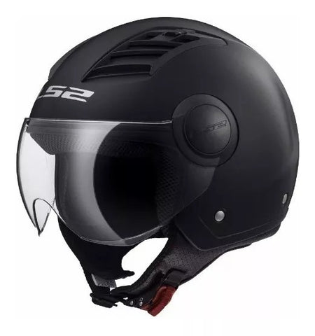 CASCO ABIERTO LS2 AIRFLOW SOLID NGO/MATE OF562