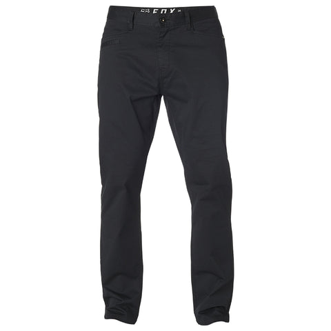 PANTALON FOX STRETCH CHINO NEGRO