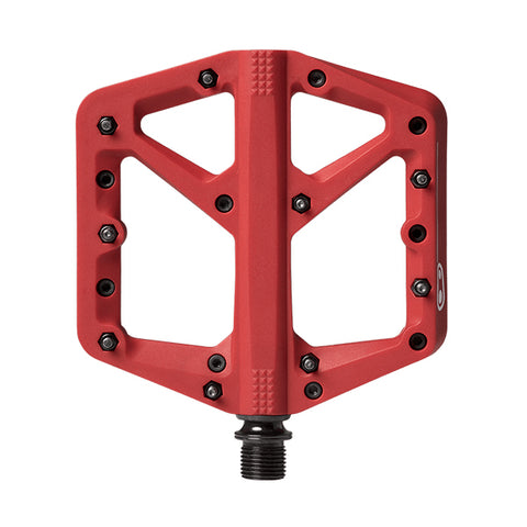 PEDALES CRANKBROTHERS STAMP 1 CHICO/ROJO