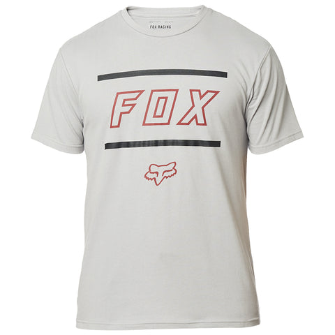PLAYERA FOX AIRLINE SS MIDWAY GRIS/ROJO