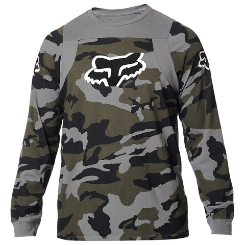 PLAYERA FOX LS SCRAMBLE CAMO