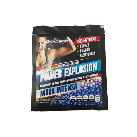 SOBRE OPTISPORT POWER EXPLOSION MORA-INTENSA 20G