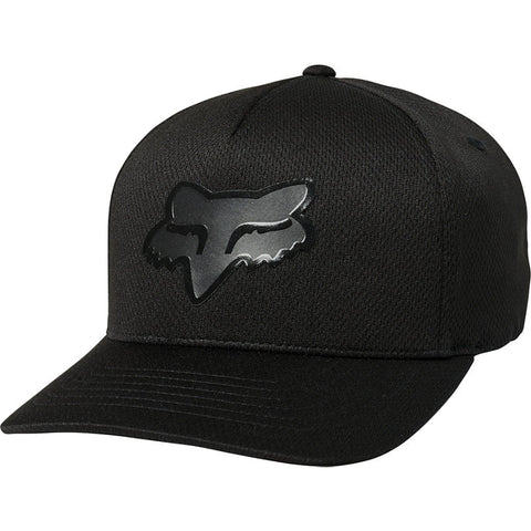 GORRA FOX STAY GLASSY FLEXFIT NEGRO