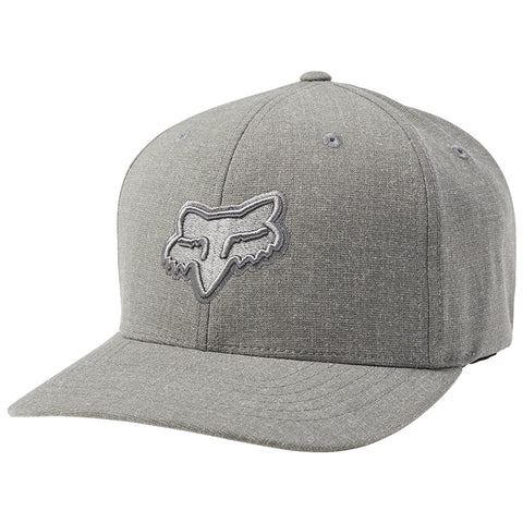 GORRA FOX FLEXFIT TRANSPOSITION GRIS ESTAÑO