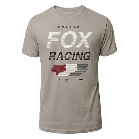 TEE FOX UNLIMITED SS AIRLINE GRIS CLARO