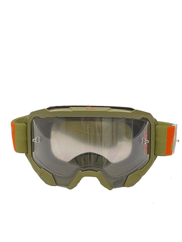 GOGGLE LEATT VELOCITY 4.5  FOREST / GRIS CLARO