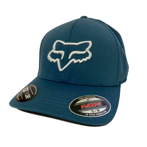 GORRA FOX FLEXFIT LITHOTYPE AZUL STL