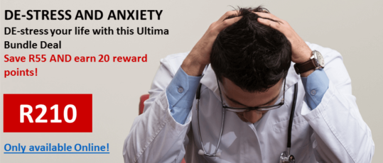 Did you know Ultima Adaptogens are excellent for stress?