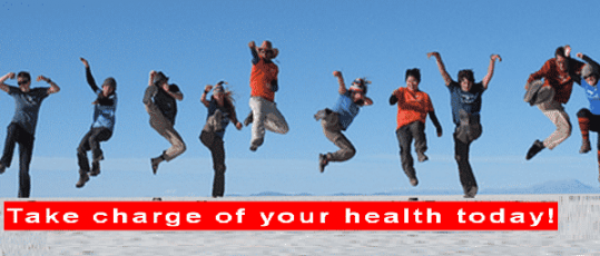 Take Charge of your Health Today !