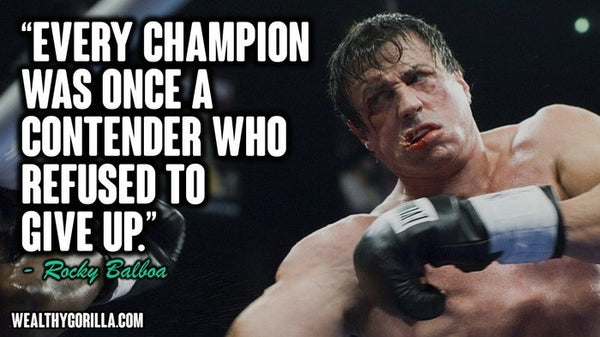 Top 20 Inspiring Quotes By Rocky Contenders Clothing