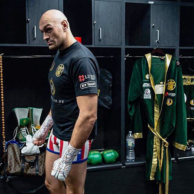 f7b754dd2532 Tyson Fury ConquersWearing Contenders - Contenders Clothing