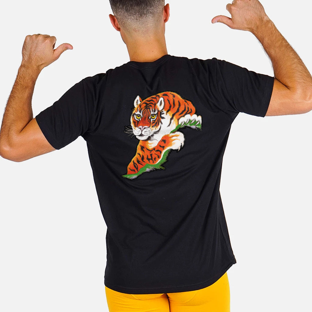 ROCKY SATIN TIGER SHIRT