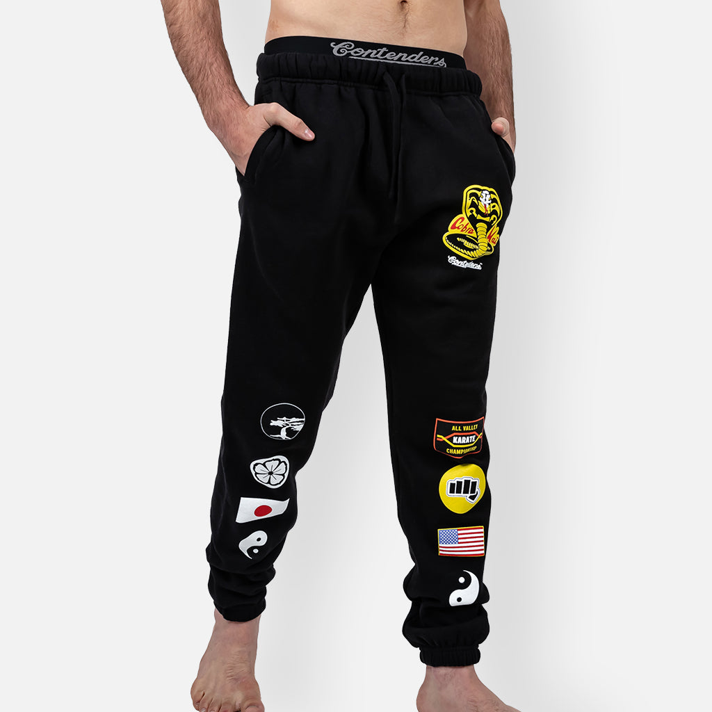 COBRA KAI PATCHES SWEAT PANT