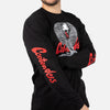 COBRA KAI COBRA SKELETON LONG SLEEVE SHIRT