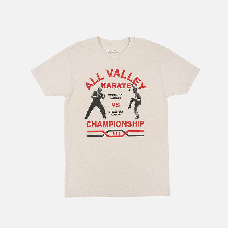 Contenders Cobra Kai All Valley Poster T-Shirt