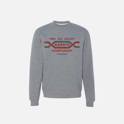KARATE KID ALL-VALLEY CREWNECK SWEATSHIRT - Contenders Clothing