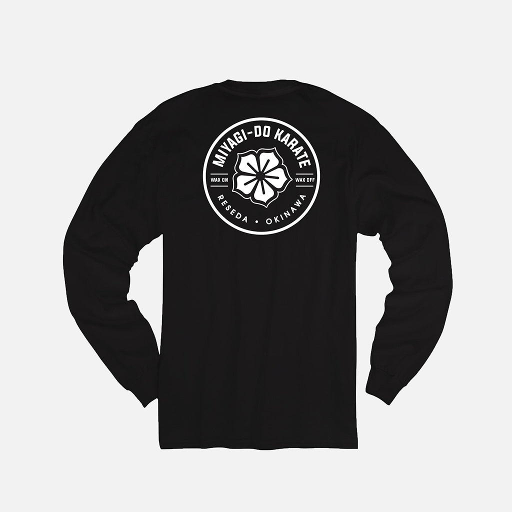 Karate Kid Miyagi Stamp Long Sleeve