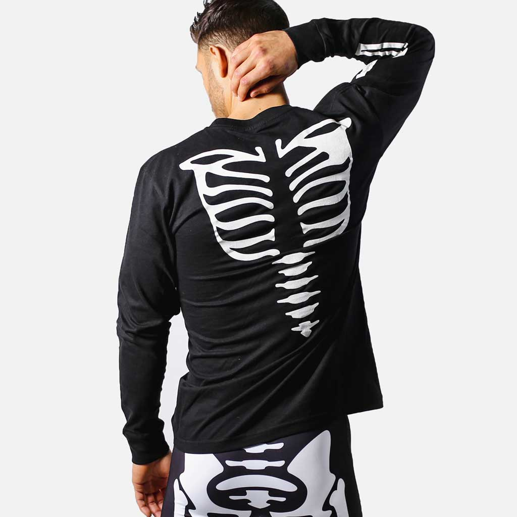 COBRA KAI SKELETON LONG SLEEVE SHIRT