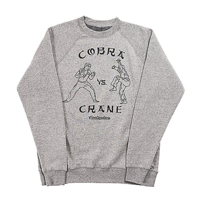 Cobra Vs Crane Crew Neck Sweatshirt