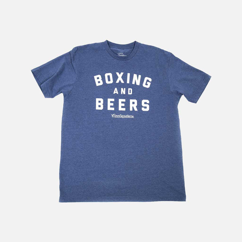 BOXING & BEERS SHIRT - Contenders Clothing