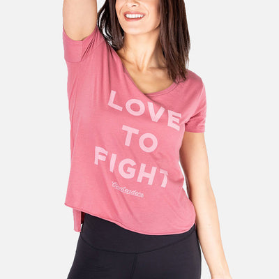 WOMEN'S LOVE TO FIGHT SCOOP - Contenders Clothing