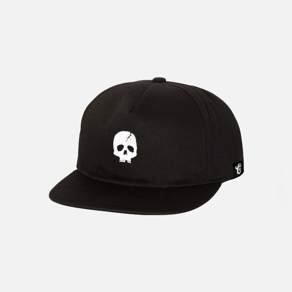SKULL CRACK UNSTRUCTURED SNAPBACK - Contenders Clothing