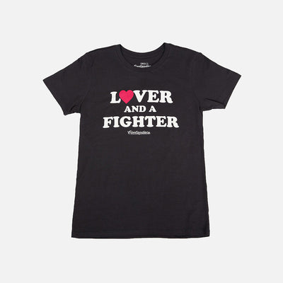 WOMEN'S LOVER & FIGHTER TOO SHIRT - Contenders Clothing