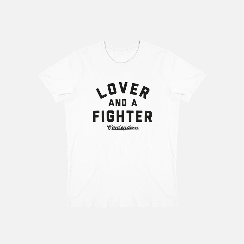 WOMEN'S LOVER & FIGHTER SHIRT - Contenders Clothing