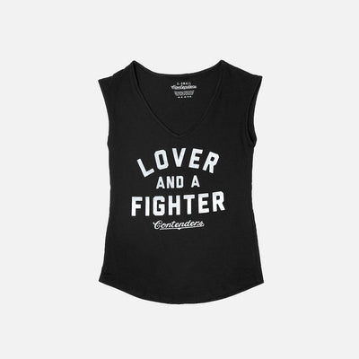 WOMEN'S LOVER & FIGHTER TANK - Contenders Clothing