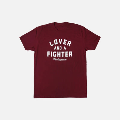 MEN'S LOVER & FIGHTER SHIRT - Contenders Clothing