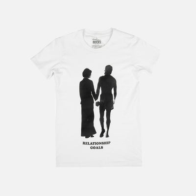 WOMEN'S RELATIONSHIP GOALS SHIRT - Contenders Clothing