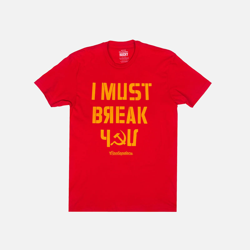 "IVAN DRAGO ""I MUST BREAK YOU"" SHIRT - Contenders Clothing"