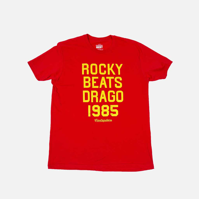 ROCKY BEATS DRAGO 1985 SHIRT - Contenders Clothing