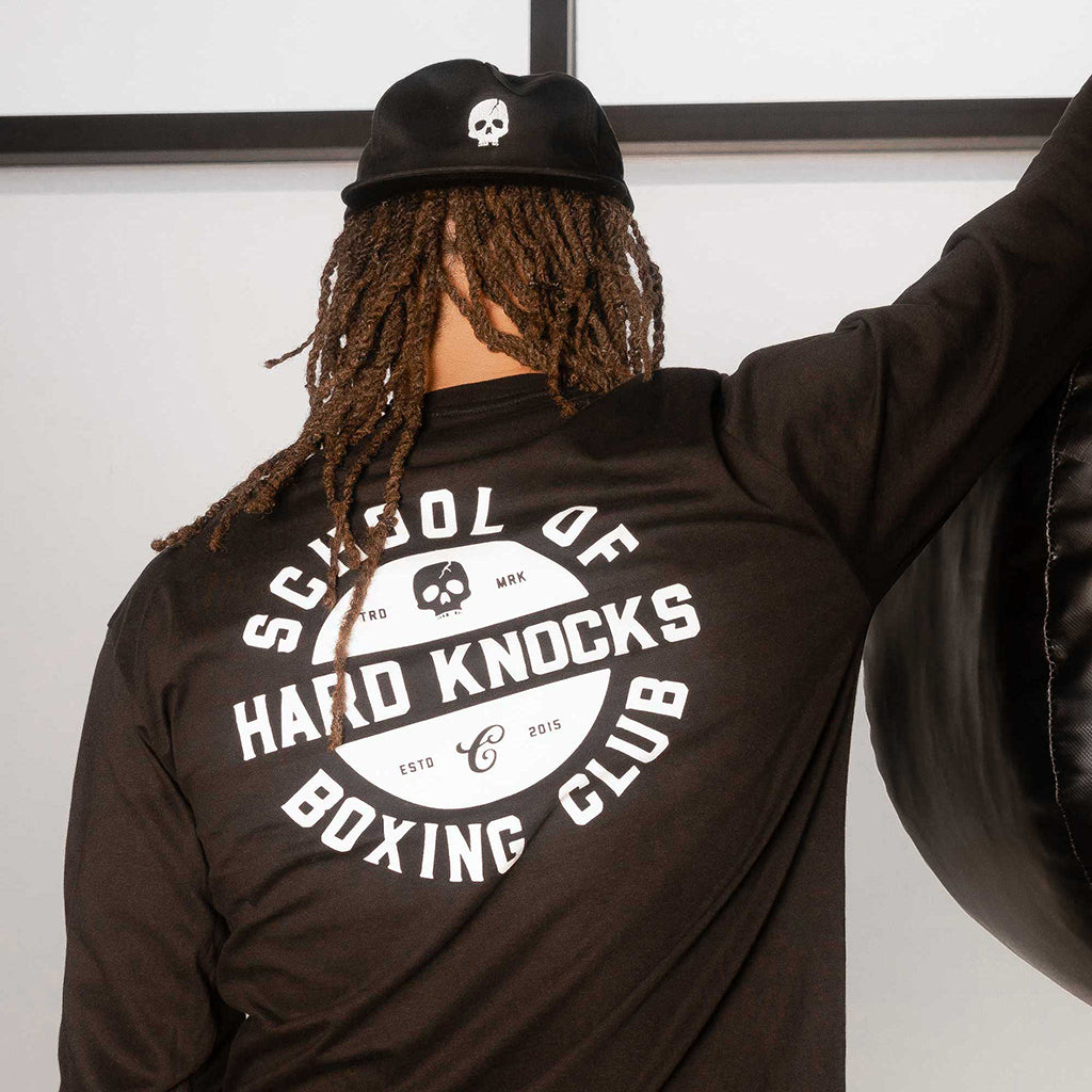 SCHOOL OF HARD KNOCKS STAMP LONG SLEEVE SHIRT - Contenders Clothing