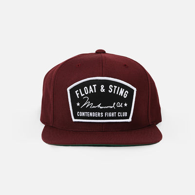 MUHAMMAD ALI FLOAT & STING SNAPBACK - Contenders Clothing