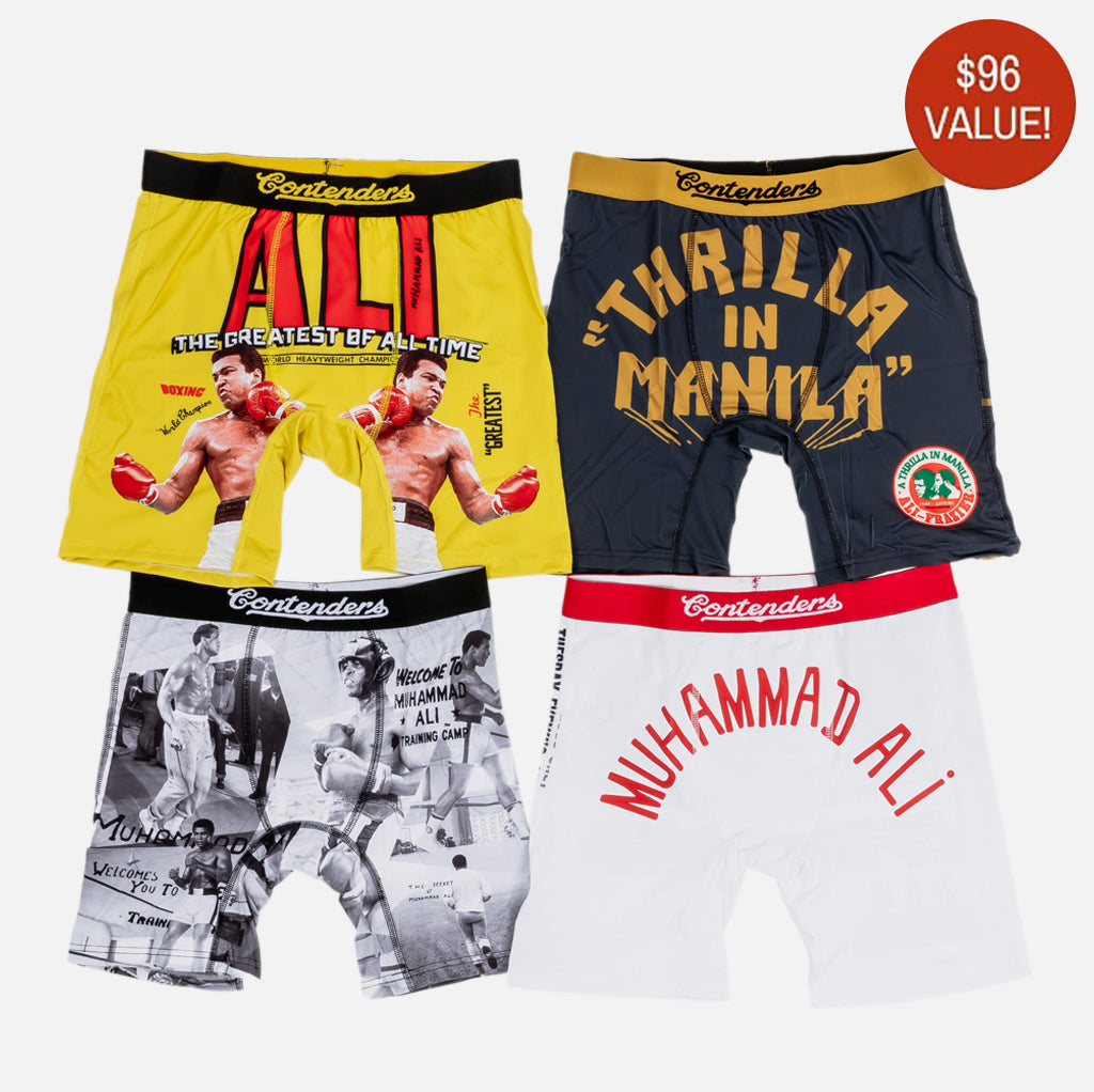 MUHAMMAD ALI THE GREATEST 4 PACK