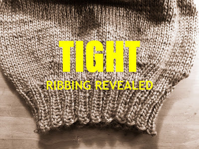 Ribbing Problem Solving for Knitters