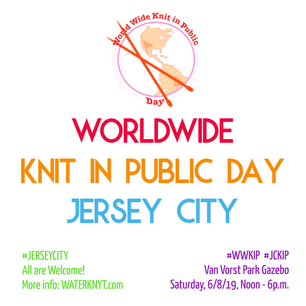 Worldwide Knit in Public Day - Jersey City (Official)