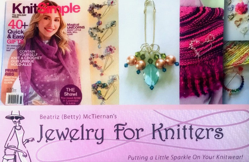 Jewelry for Knitters a Worldwide Knit in Public Day Jersey City Sponsor Graphic