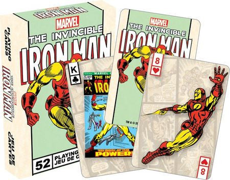 Iron Man Playing Cards Marvel