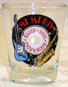 Memphis Shot Glass Record