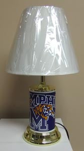 Memphis Lamp Tigers White Shadow