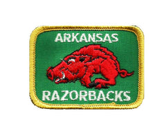 Arkansas Iron-On Patch Razorbacks