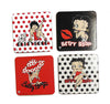 Betty Boop Coasters Polka Dot