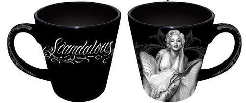 NJ as MM -David Gonzales Art Mug Latte Scandalous