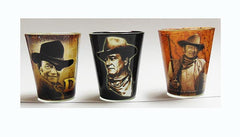 John Wayne Shot Glass Duke Set/3