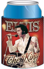 Elvis Huggie The King Red