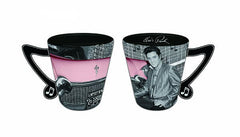 Elvis Shot Glass w/Car Music Handle